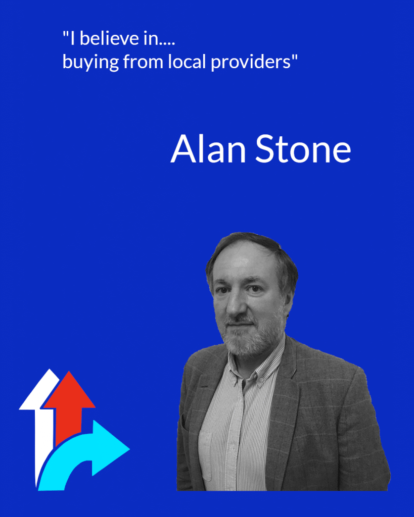 Alan Stone, Leader of the Hampshire Independents
