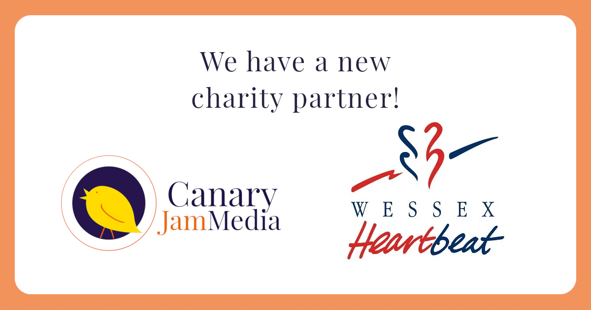 new charity partnership with wessex heartbeat
