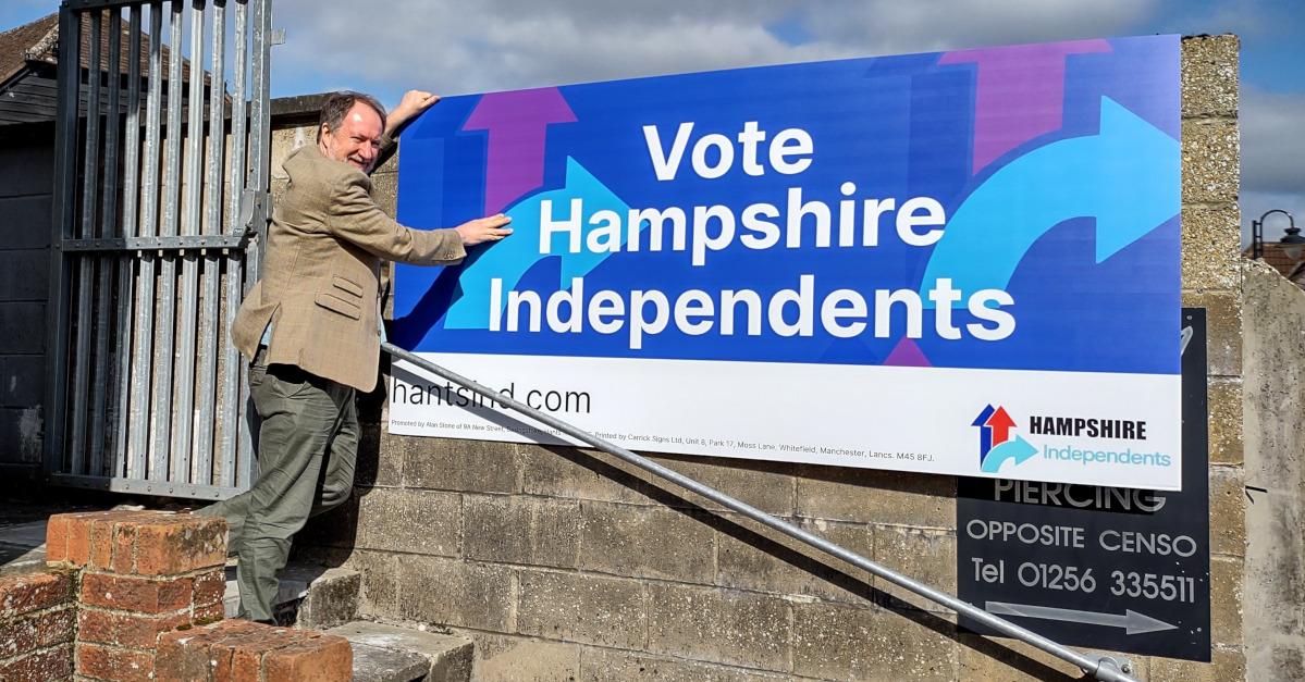 Creative portfolio - Hampshire Independents